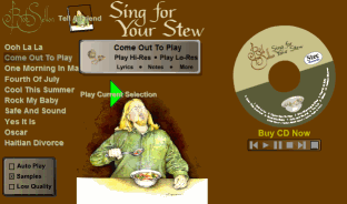 Sing For Your Stew Jukebox